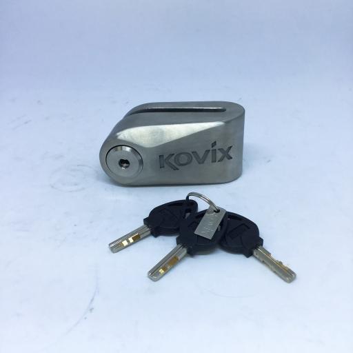 กุญแจล็อคดิส (KOVIX) เงิน L-KDL 15 D/Silver
